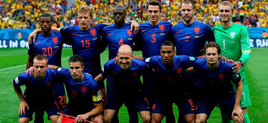 Сборная Голландии на чемпионате мира 2014 года