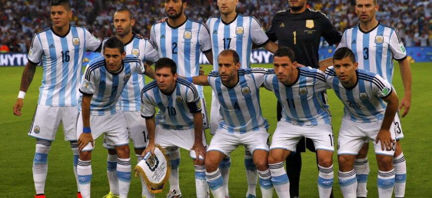 Сборная Аргентины на чемпионате мира 2014 года