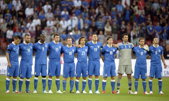 Сборная Италии на чемпионате Европы 2012 года