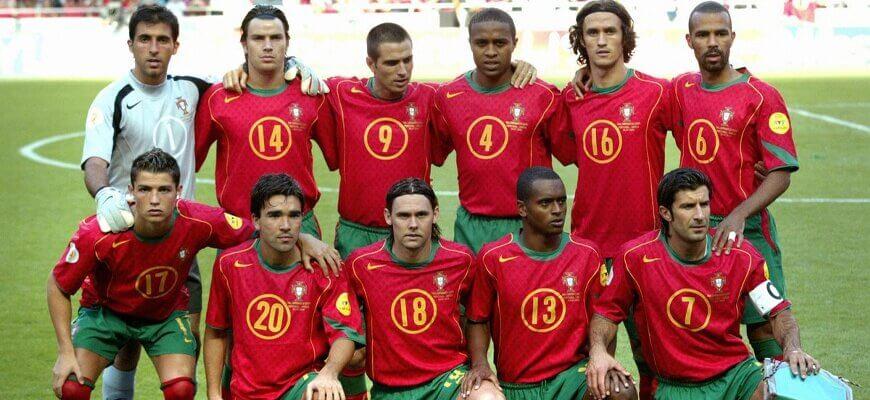 Сборная Португалии на чемпионате Европы 2004 года