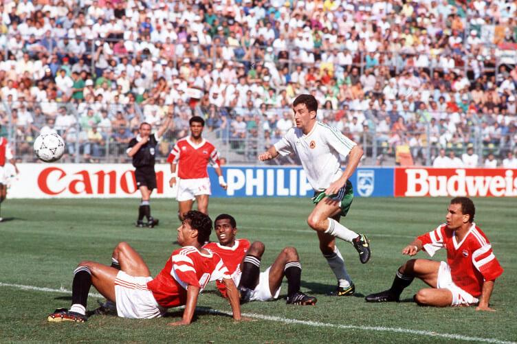 ЧМ-1990: Ирландия - Египет