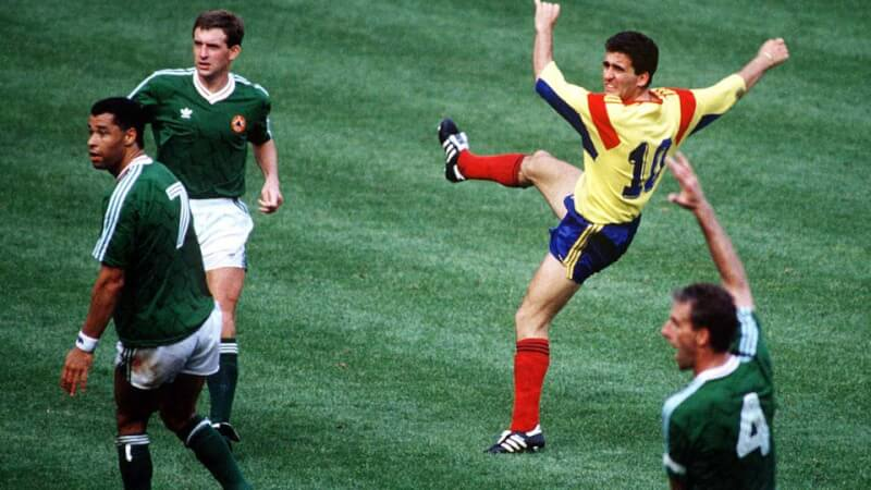 ЧМ-1990: Ирландия - Румыния