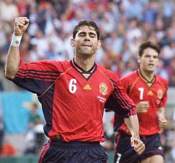 Фернандо Йерро в сборной Испании