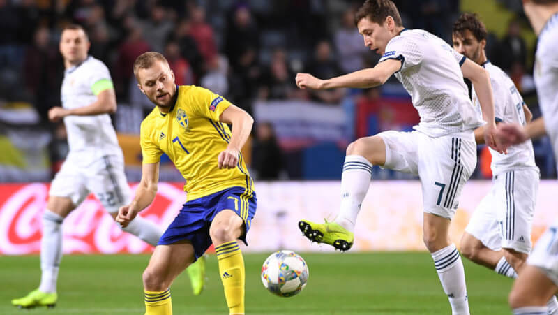 Лига Наций: Швеция - Россия