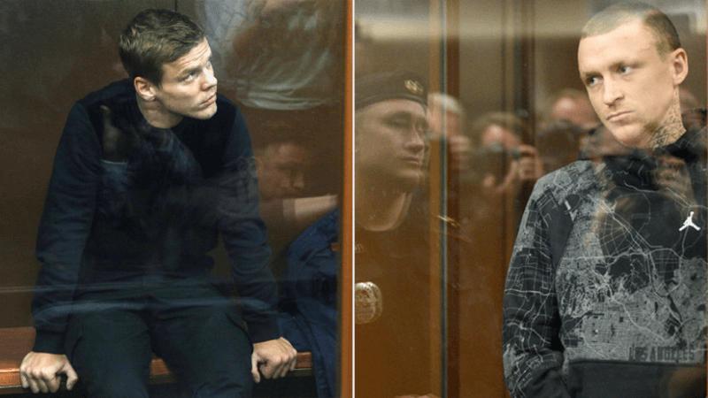 Мамаев и Кокорин в зале суда