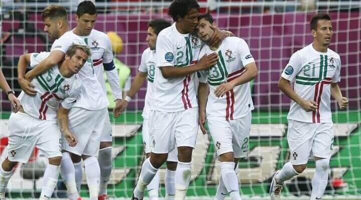 Сборная Португалии на чемпионате Европы 2012 года