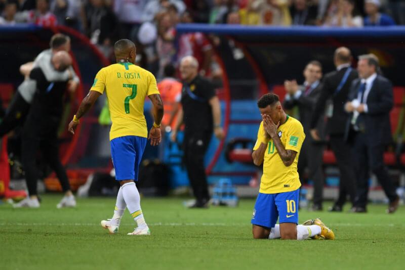 Вылет сборной Бразилии