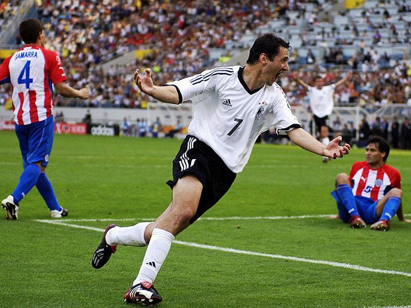 ЧМ-2002: Германия - Парагвай, гол Нойвилля
