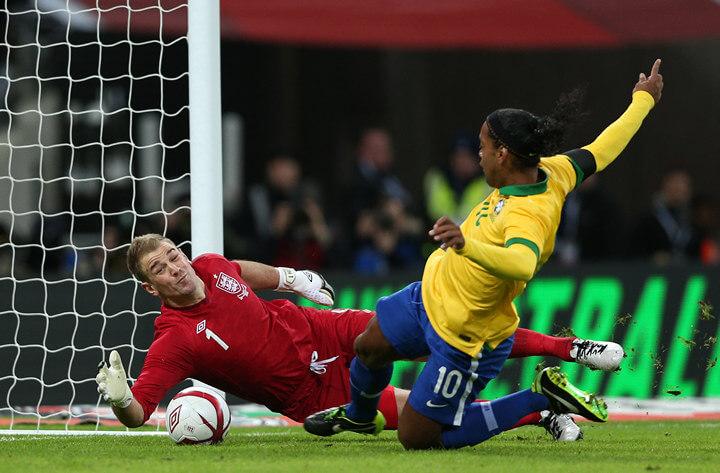 Джо Харт в сборной Англии