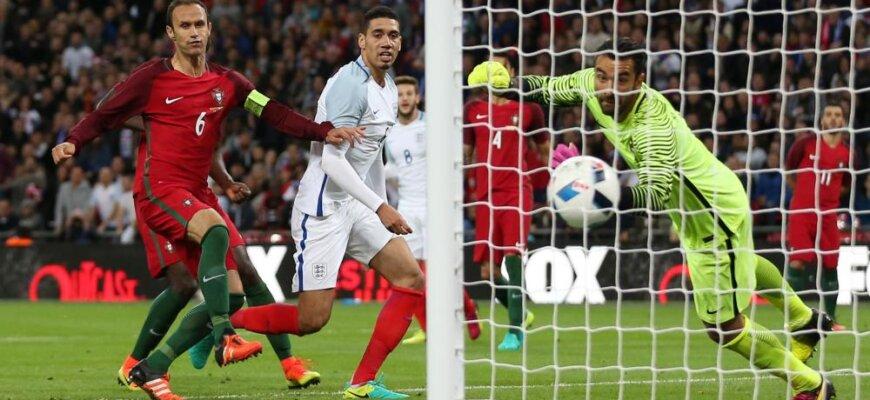 Футбольные противостояния: Англия - Португалия