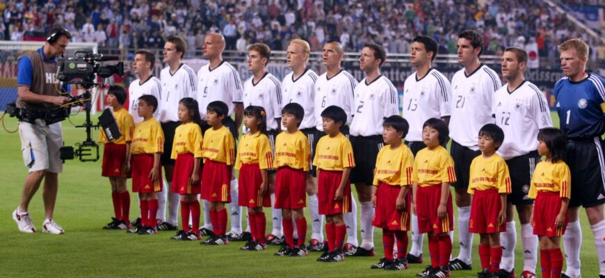 Сборная Германии на чемпионате мира 2002 года