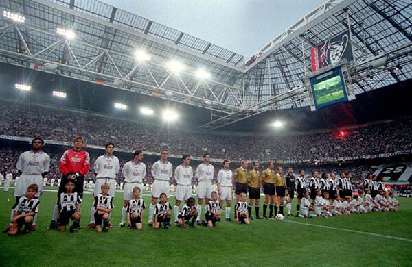 Ювентус 1998 лига чемпионов