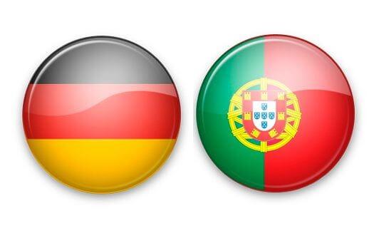 Футбольные противостояния: Германия - Португалия