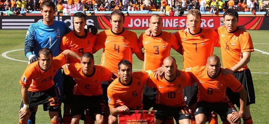 Сборная Голландии на чемпионате мира 2010 года