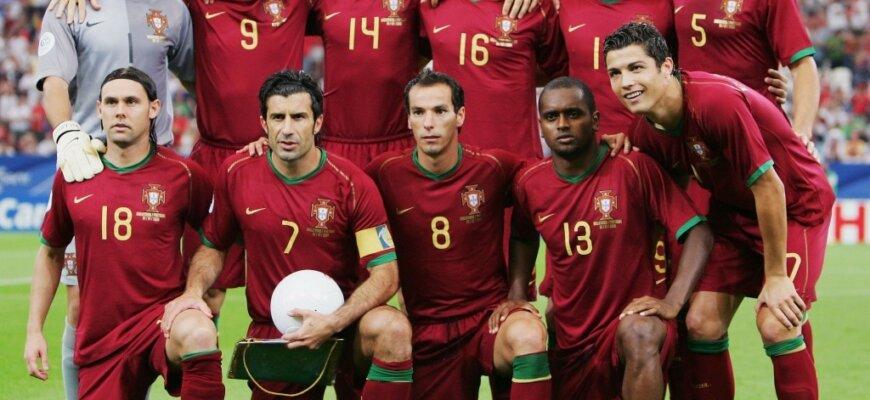 Сборная Португалии на чемпионате мира 2006 года