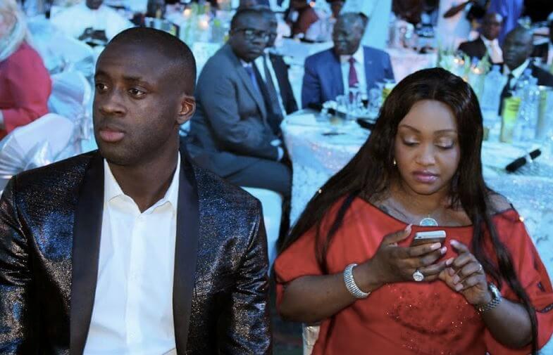 Яя Туре с женой