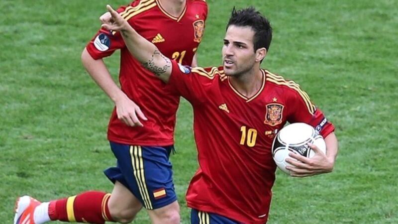 Футболист сборной Испании Сеск Фабрегас