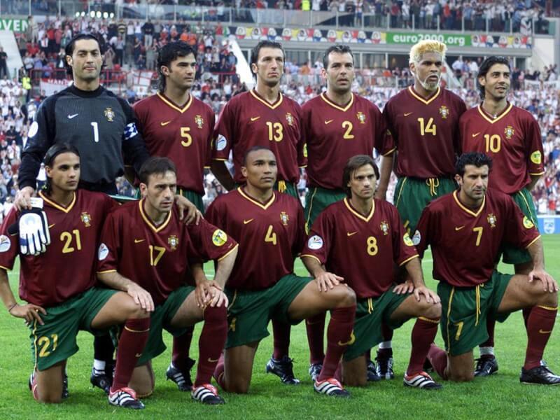 Сборная Португалии на чемпионате Европы 2000 года