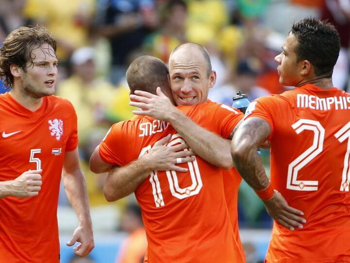 Лучшие матчи сборной Голландии на чемпионатах мира
