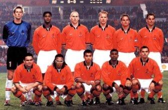 Сборная Голландии на чемпионате Европы 2000 года