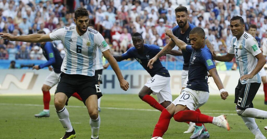 Франция - Аргентина на ЧМ-2018