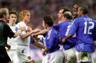Футбольные противостояния: Россия - Франция