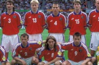 Сборная Чехии на чемпионате Европы 1996 года