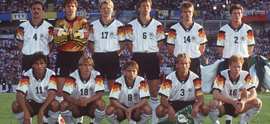 Сборная Германии на чемпионате Европы 1992 года