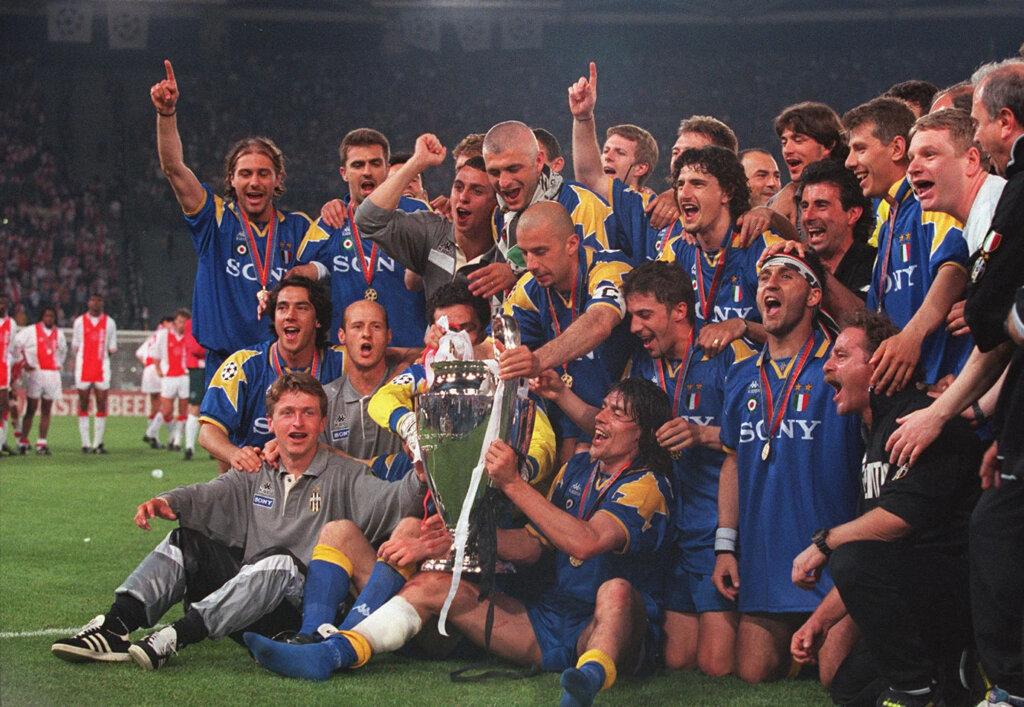 Ювентус победитель лиги чемпионов 1996