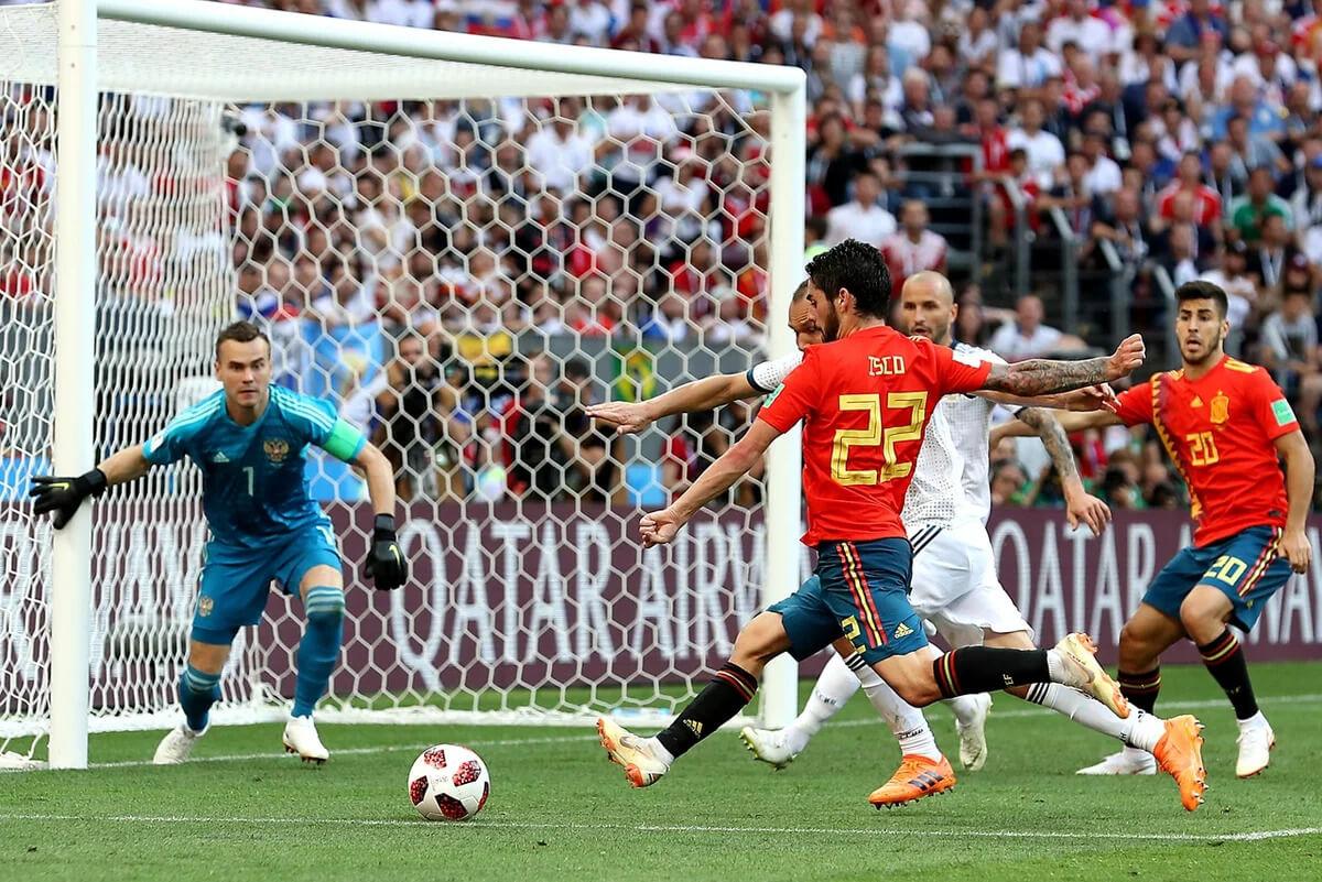 Футбольные противостояния: Россия - Испания