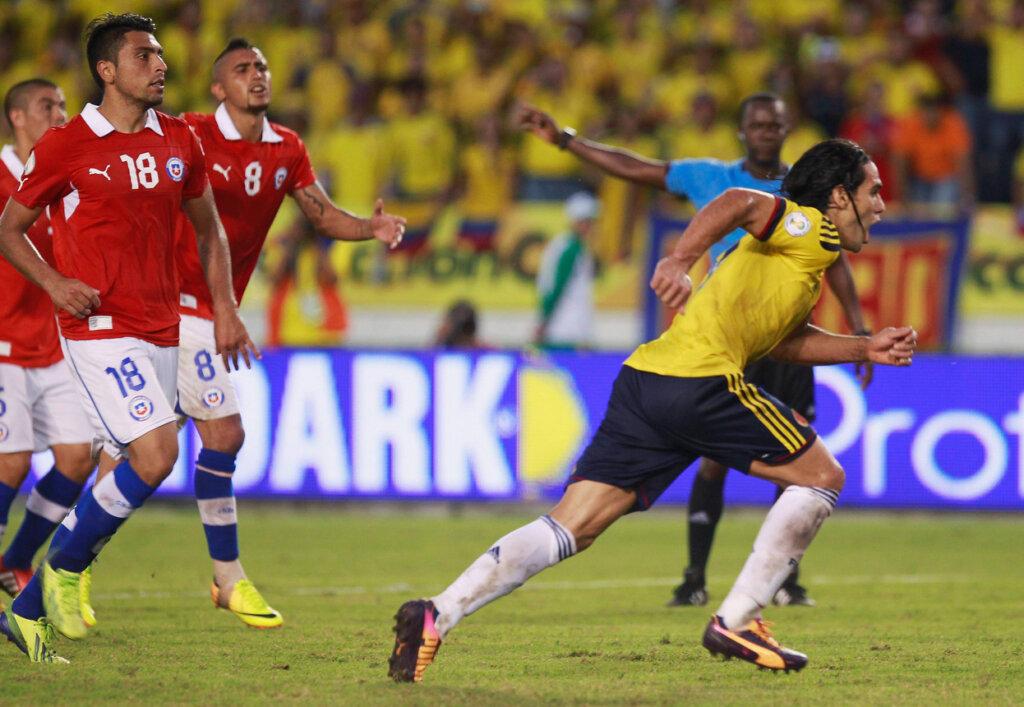 Колумбия - Чили: отборочный матч