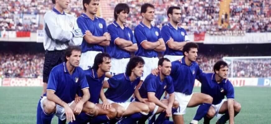 Сборная Италии на чемпионате мира 1990 года