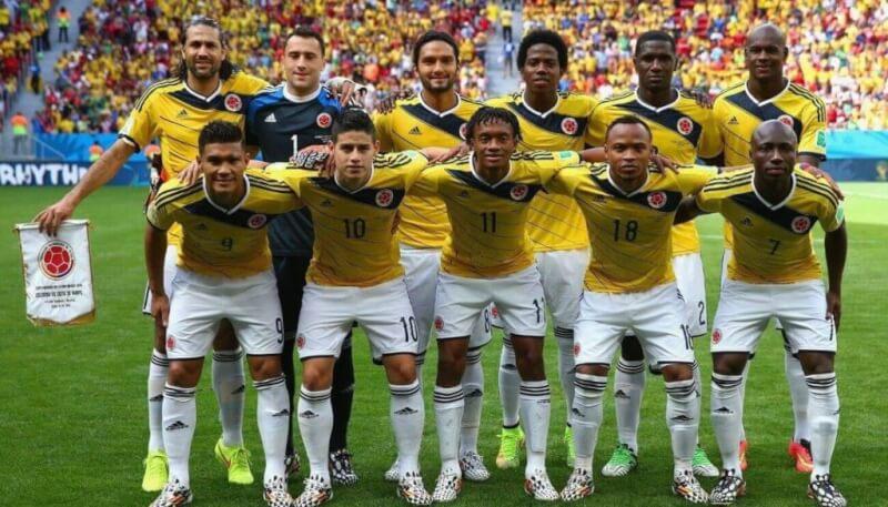 Сборная Колумбии на чемпионате мира 2014 года