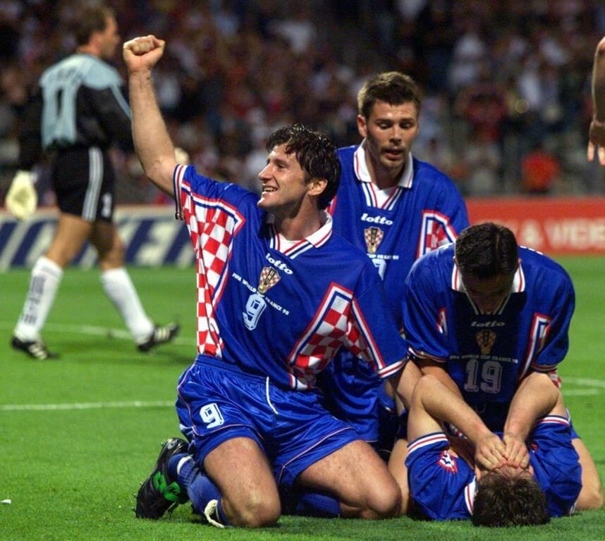 Хорватия - Германия: четвертьфинал ЧМ-1998