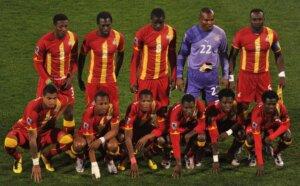 Сборная Ганы на чемпионате мира 2010 года