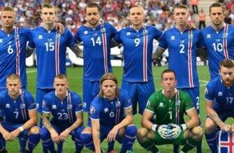 Сборная Исландии на чемпионате Европы 2016 года