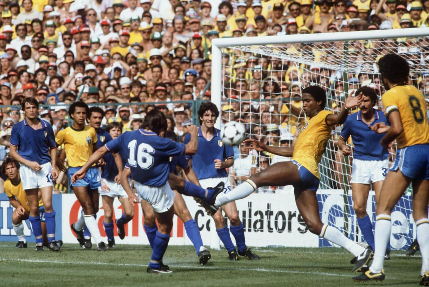 Футбольные противостояния: Бразилия - Италия