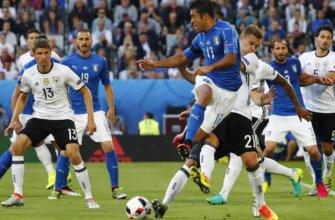 Германия - Италия на Евро-2016