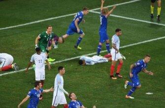 Исландия - Англия на Евро-2016