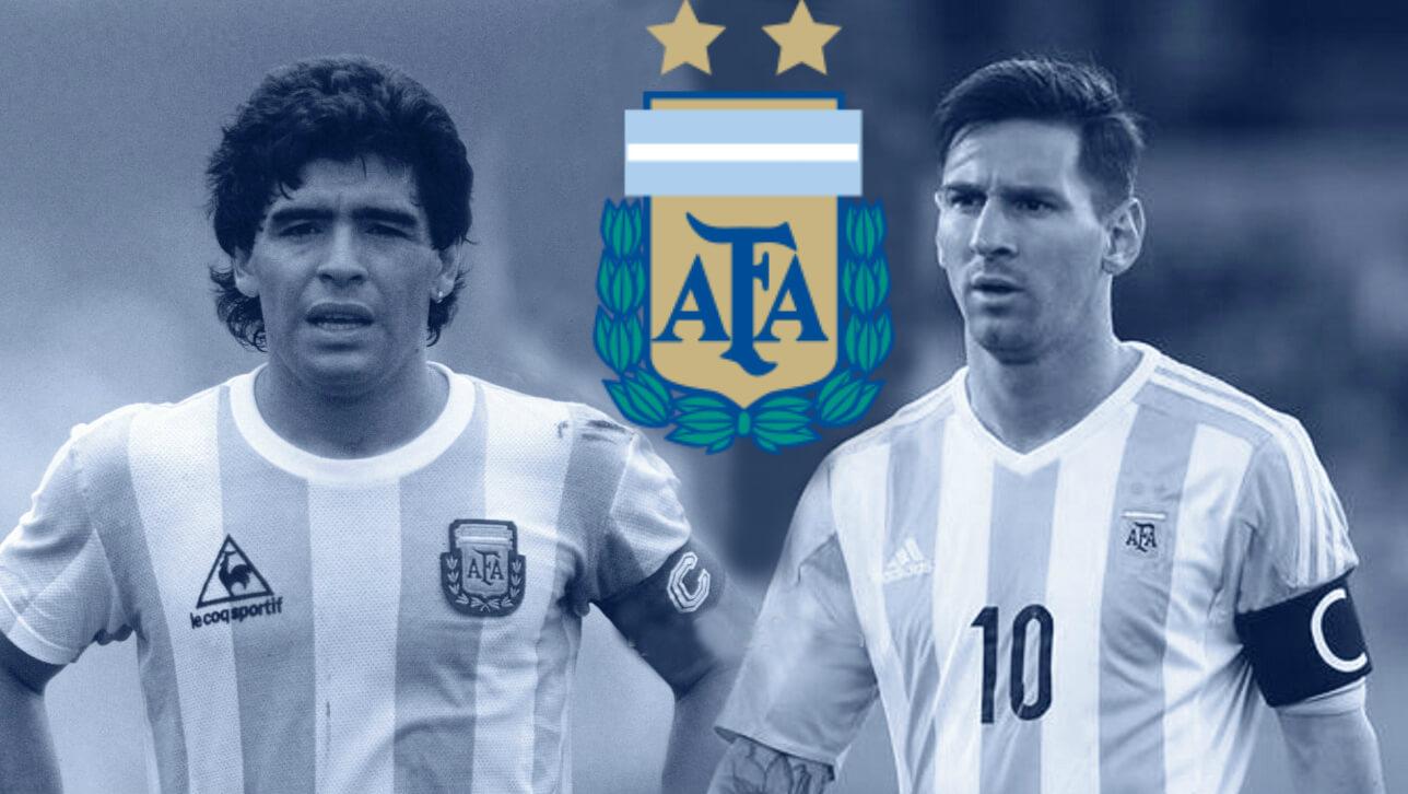 Лучшие нападающие сборной Аргентины