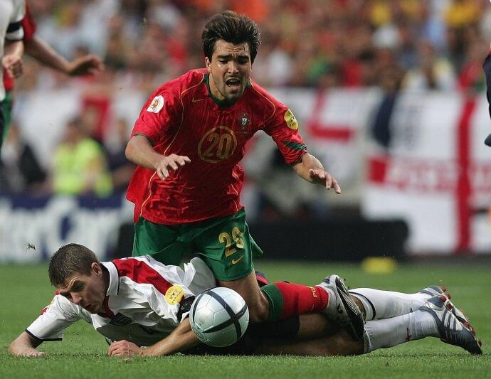 Португалия - Англия: четвертьфинал Евро-2004