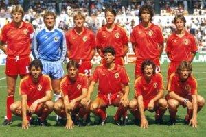 Сборная Бельгии на чемпионате мира 1986 года