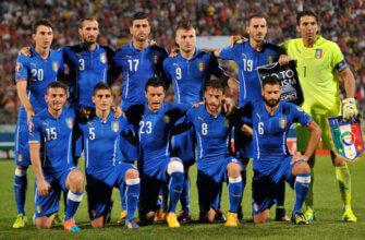 Сборная Италии на чемпионате Европы 2016 года