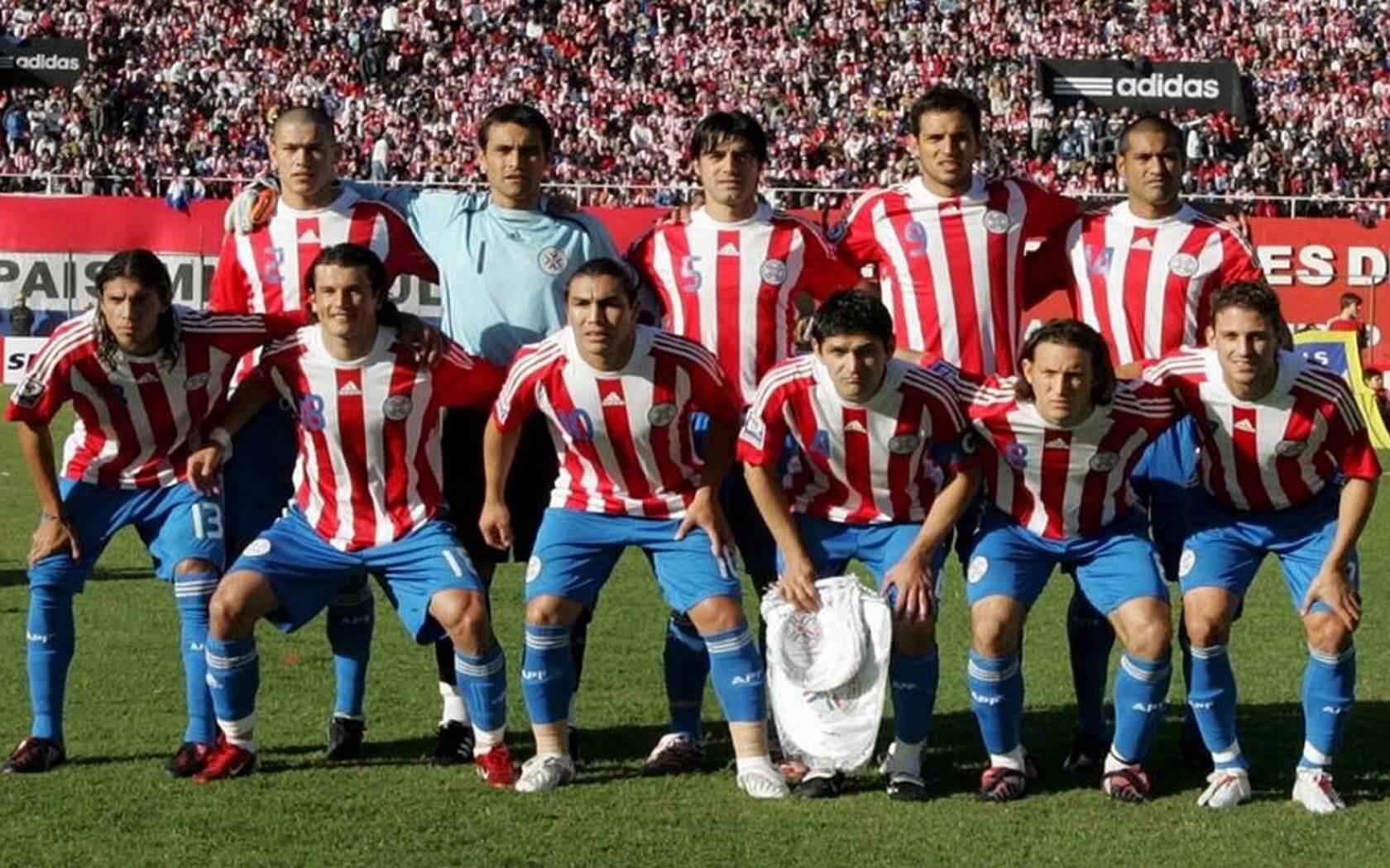 Сборная Парагвая на чемпионате мира 2010 года