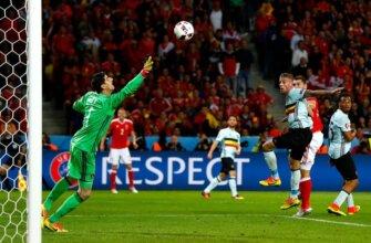Уэльс - Бельгия: четвертьфинал Евро-2016