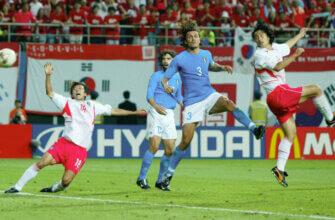 Южная Корея - Италия на ЧМ-2002