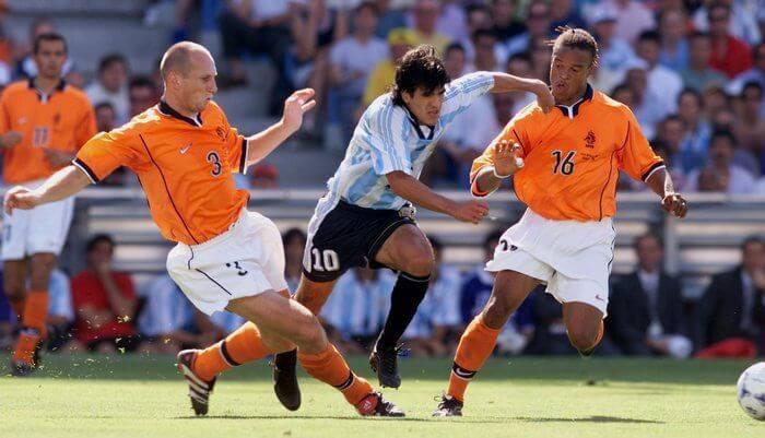 Голландия - Аргентина: четвертьфинал ЧМ-1998