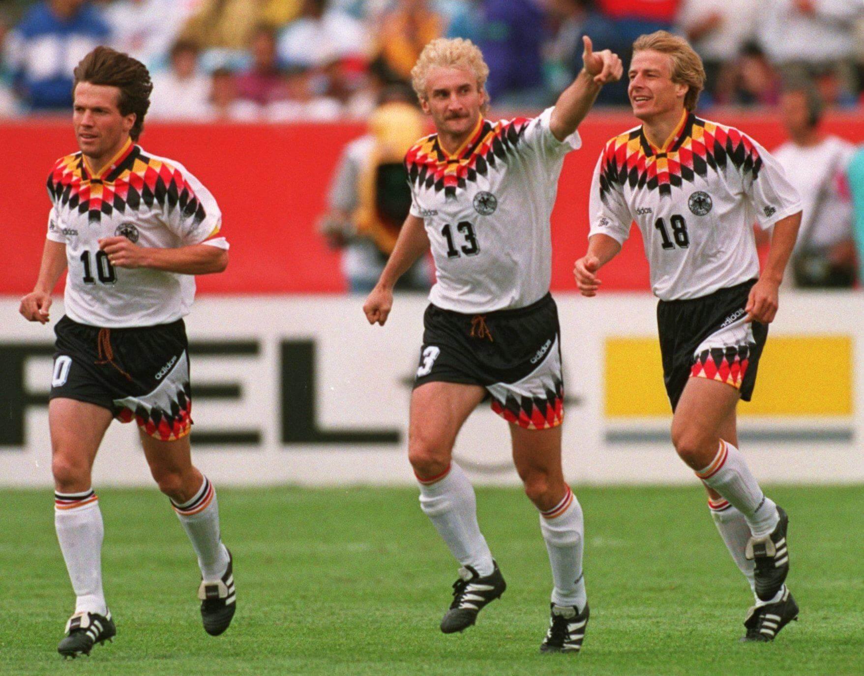 Лучшие нападающие сборной Германии