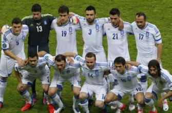 Сборная Греции на чемпионате Европы 2012 года