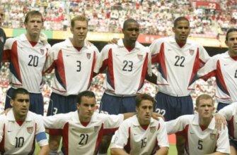 Сборная США на чемпионате мира 2002 года